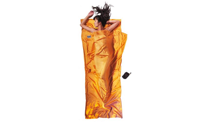 Cocoon TravelSheet Śpiwór Silk żółty